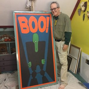 Boo! Painting