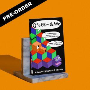 qbert and we book preview jeffrey lee